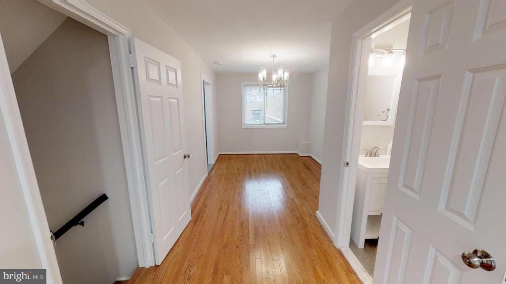 Facing dining room - 2310 14TH ST NE, WASHINGTON