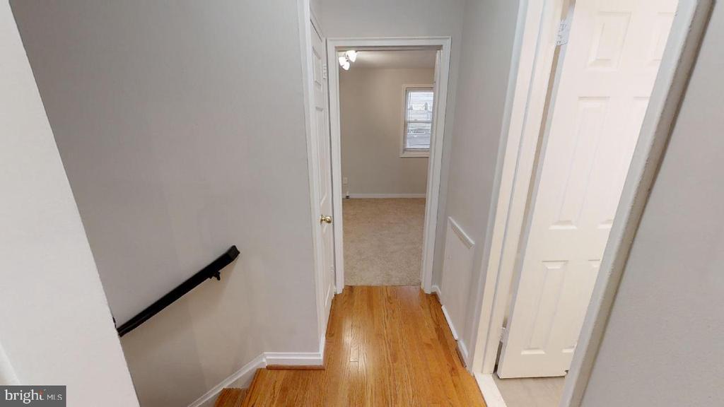 Second floor hall - 2310 14TH ST NE, WASHINGTON