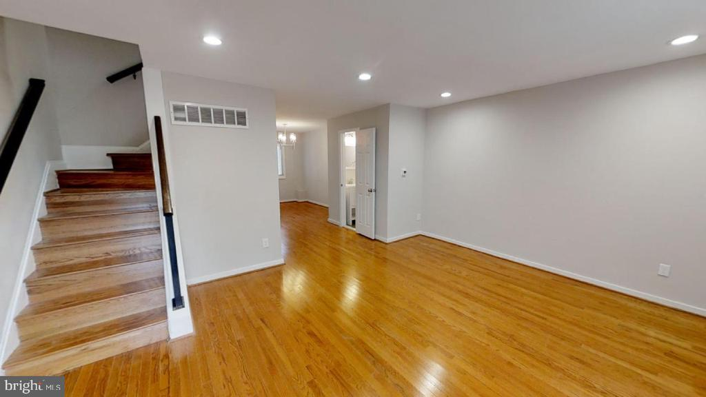 Entrance -- living room - 2310 14TH ST NE, WASHINGTON