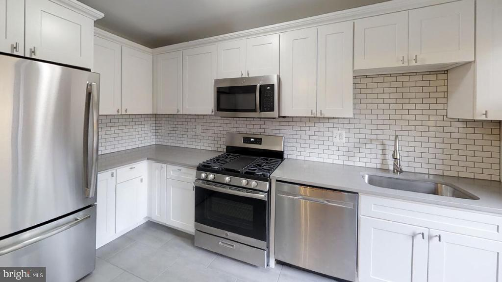 Kitchen shot 3 - Plenty of cabinets! - 2310 14TH ST NE, WASHINGTON
