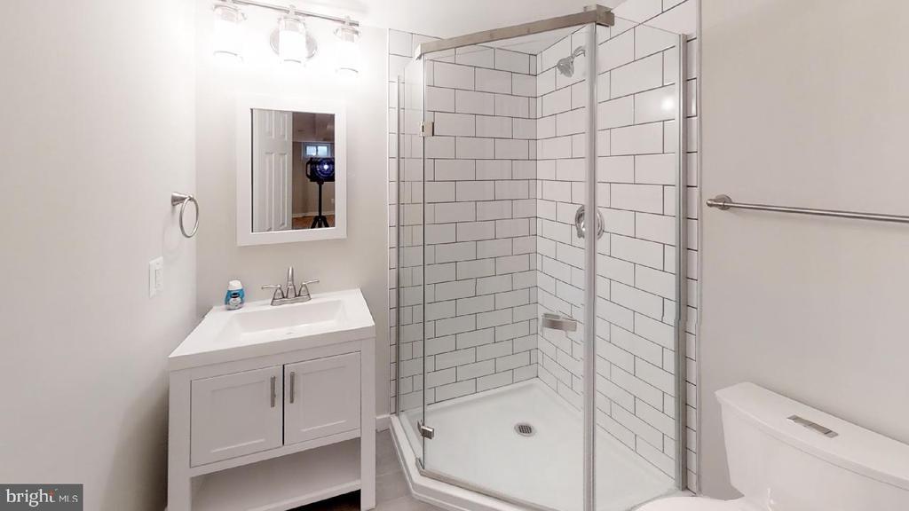Basement bath shot 2 - 2310 14TH ST NE, WASHINGTON