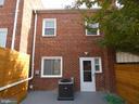 House rear - 2310 14TH ST NE, WASHINGTON