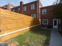 House rear, view 5 - 2310 14TH ST NE, WASHINGTON