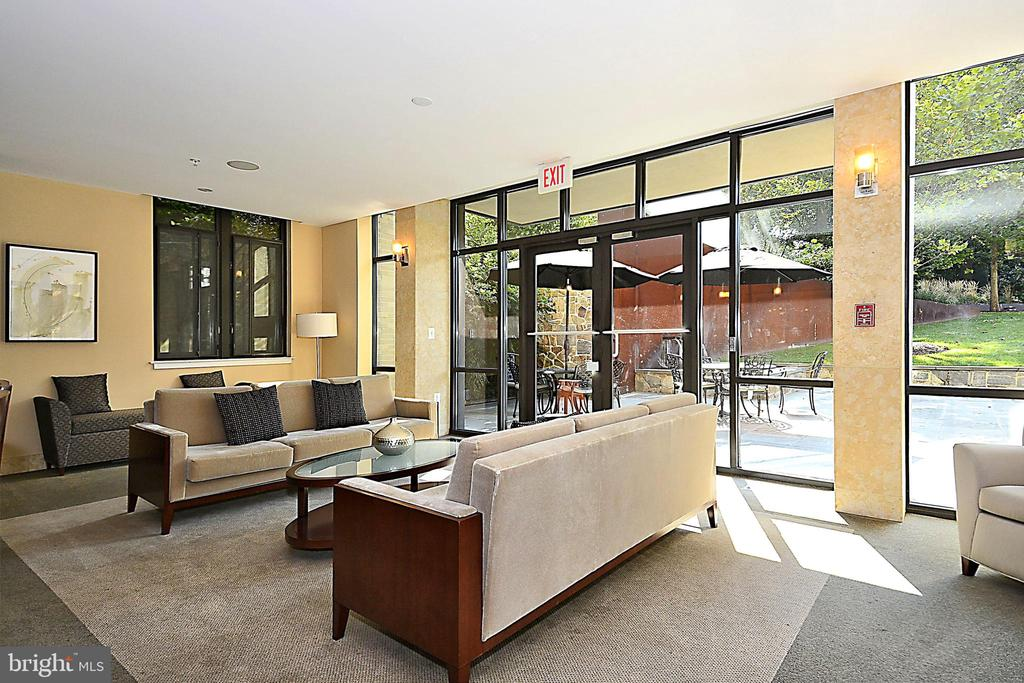 Walks out to Private Terrace for Outdoor Parties - 4301 MILITARY RD NW #PH5, WASHINGTON
