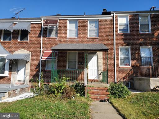 Property for sale at 3432 Erdman Ave, Baltimore,  Maryland 21213