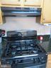 Gas cooking with one year old stove and NEW Hood! - 9315 PAUL DR, MANASSAS PARK