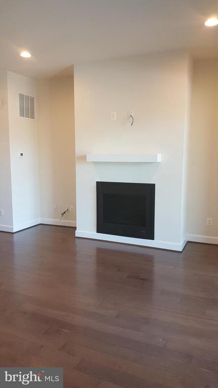 Fireplace main level - 20373 CODMAN DR, ASHBURN