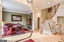 Spacious living space with grand staircase - 2158 HARITHY DR, DUNN LORING