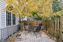 Beautifully landscaped fenced patio - 2158 HARITHY DR, DUNN LORING