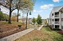 Green space in front of the property - 4139 S FOUR MILE RUN DR #204, ARLINGTON
