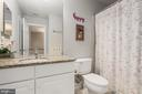 Hall bath - 191 GREAT LAUREL SQ SE, LEESBURG