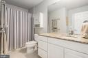 Full bath on ground level. - 191 GREAT LAUREL SQ SE, LEESBURG