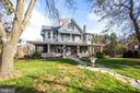 Situated among mature trees - 6317 JEFFERSON BLVD, FREDERICK