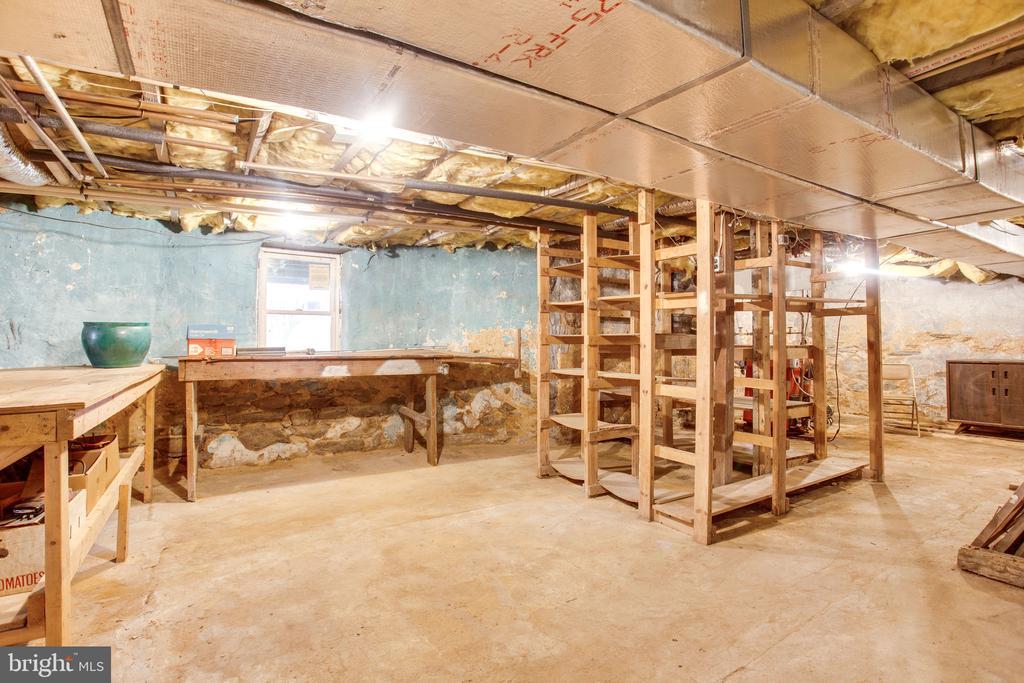 Unfinished Basement Provides Tons of Storage! - 6317 JEFFERSON BLVD, FREDERICK