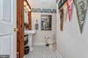 Convenient main level half bath. - 108 PARK LN, THURMONT