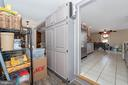 Pantry behind kitchen is huge. - 108 PARK LN, THURMONT