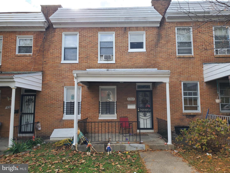 Single Family Homes のために 売買 アット Baltimore, メリーランド 21206 アメリカ