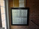 MAILBOXES IN LOBBY - 1543 COLONIAL DR #T-1, WOODBRIDGE