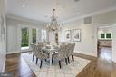 Custom Chandelier - 6470 KEDLESTON CT, MCLEAN