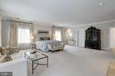 Pristine Master Bedroom with Sitting Area - 6470 KEDLESTON CT, MCLEAN