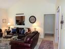 Living Room with door into Kitchen Area - 239 WASHINGTON ST, LOCUST GROVE