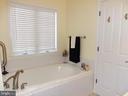 Master Bathroom soaking tub - 239 WASHINGTON ST, LOCUST GROVE