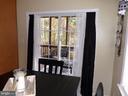 Door from kitchen onto screened porch - 239 WASHINGTON ST, LOCUST GROVE