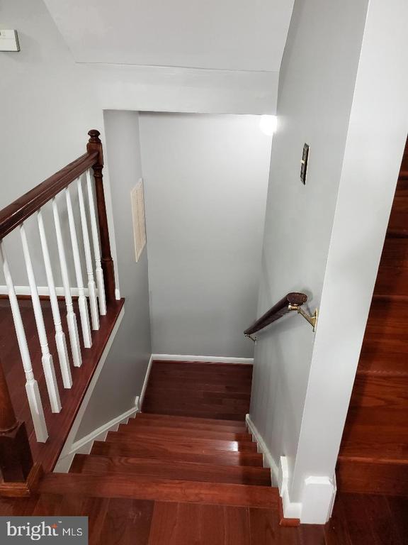 Stairway to Basement - 13006 QUANDER CT, WOODBRIDGE