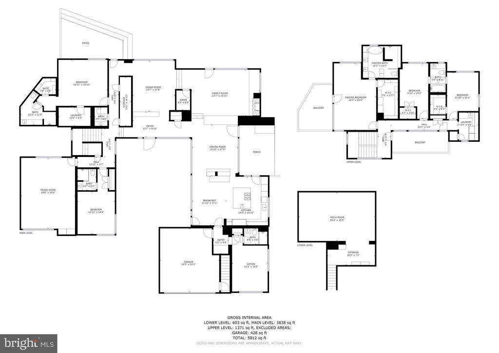 Floorplan - 4611 36TH ST N, ARLINGTON