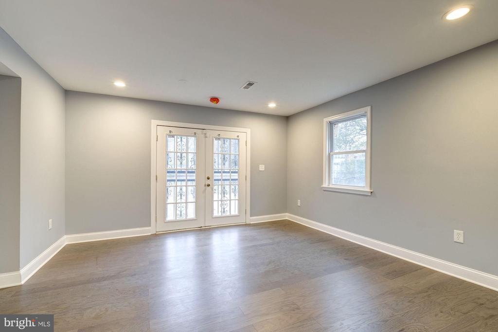 Family room/office - 1431 ANACOSTIA AVE NE, WASHINGTON
