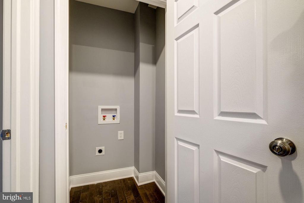 Washer and dryer to be installed - 1431 ANACOSTIA AVE NE, WASHINGTON