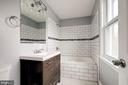 en suite bathroom - 1431 ANACOSTIA AVE NE, WASHINGTON
