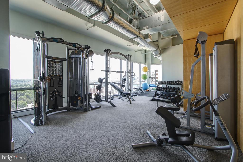 Fitness Room 17th Floor, Great Views! - 2001 15TH ST N #109, ARLINGTON