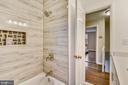 Stunningly tiled shower - 3022 S ABINGDON ST, ARLINGTON