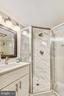 Renovated LL bathroom, check out the shower! - 3022 S ABINGDON ST, ARLINGTON