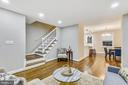 Upgrades include warmly stained flooring - 3022 S ABINGDON ST, ARLINGTON