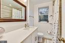 Renovated full bathroom - 3022 S ABINGDON ST, ARLINGTON
