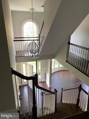 Stairs from second level - 18538 KERILL RD, TRIANGLE