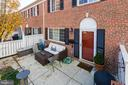 Large patio area - 1543 N VAN DORN ST #B, ALEXANDRIA