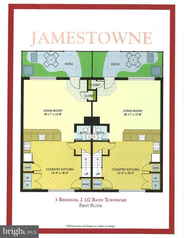 Lower level floor plan - 1543 N VAN DORN ST #B, ALEXANDRIA