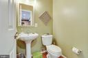 Half bath on main level - 1543 N VAN DORN ST #B, ALEXANDRIA