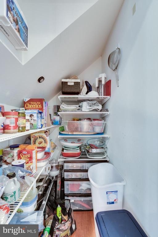 Large pantry for lots of storage - 1543 N VAN DORN ST #B, ALEXANDRIA