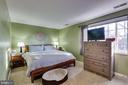 Master bedroom - 1543 N VAN DORN ST #B, ALEXANDRIA