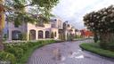 Exterior - Circular Driveway Rendering - 1171 CHAIN BRIDGE RD, MCLEAN