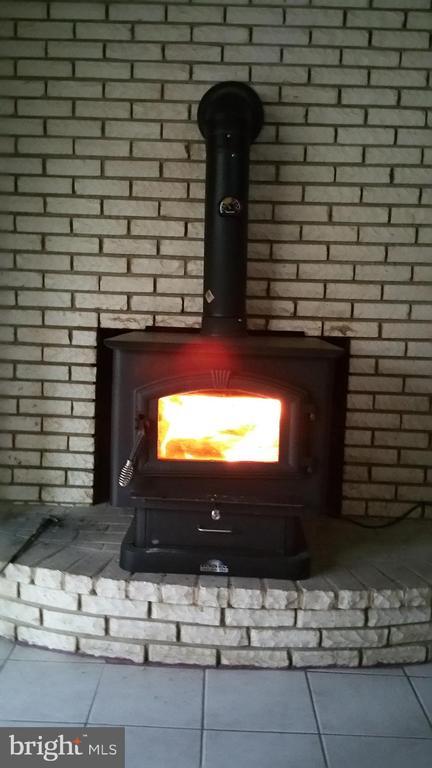 Basement Wood Stove - 12519 PURCELL RD, MANASSAS