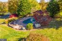 In-ground pool with brick paver patio - 34877 HARRY BYRD HWY, ROUND HILL