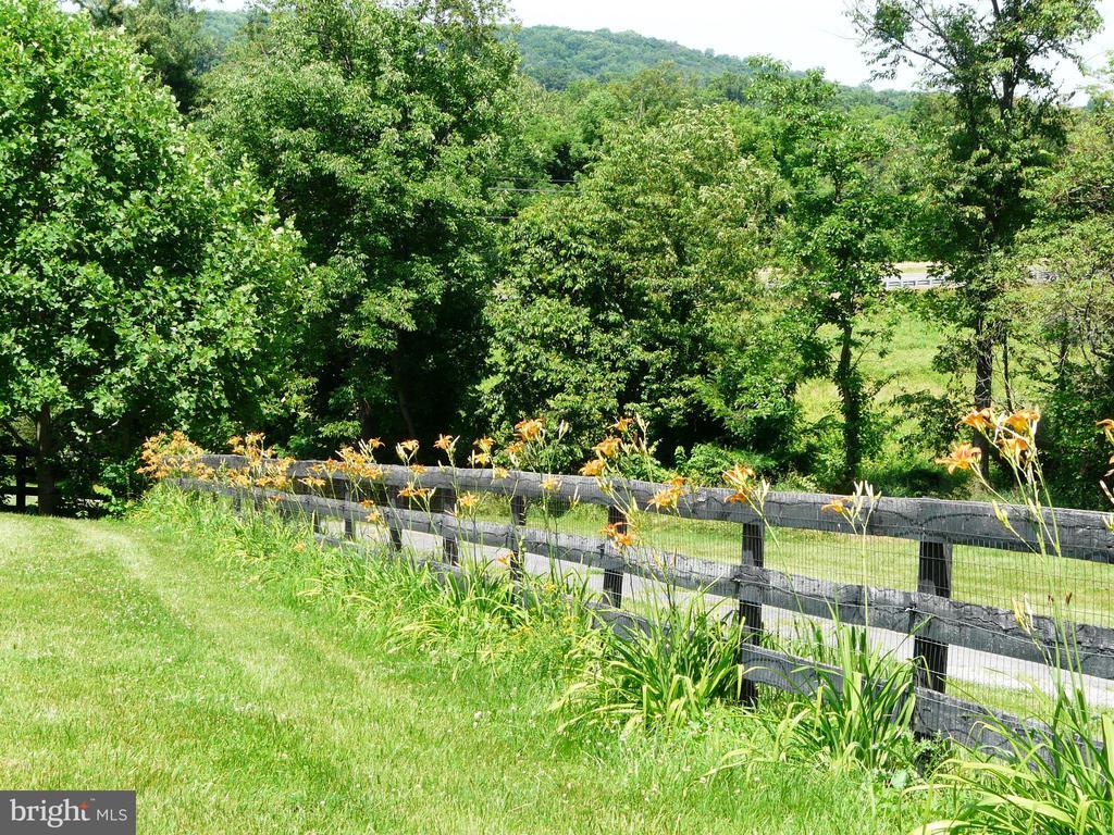 Fenced in yard - 34877 HARRY BYRD HWY, ROUND HILL
