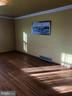 Living room. Large. With hardwood floors. - 120 E CRISER RD, FRONT ROYAL