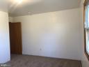 Bedroom 1.   Light filled.    New Carpet. - 120 E CRISER RD, FRONT ROYAL