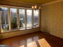 Park view -bay window of dining room hardwood floo - 120 E CRISER RD, FRONT ROYAL
